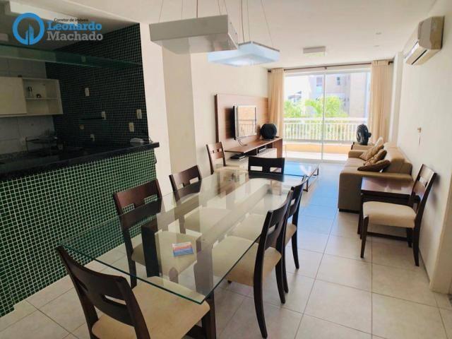 Apartamento à venda, 125 m² por R$ 680.000,00 - Porto das Dunas - Fortaleza/CE - Foto 4