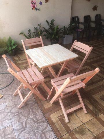 Mesas e cadeiras dobráveis  - Foto 5