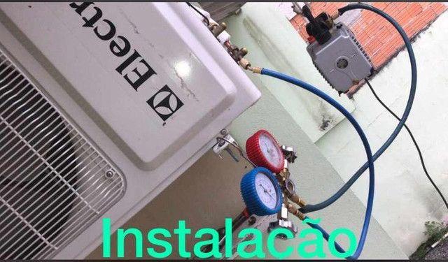 Instalação, manutenção e Higienização de Ar condicionado * - Foto 4