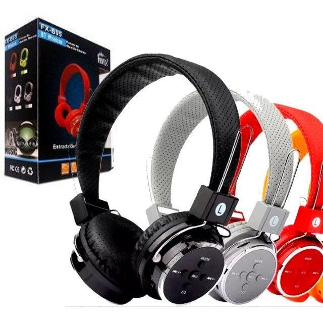 Fone de ouvido headphone B-05 knup-(Lojas Wiki)