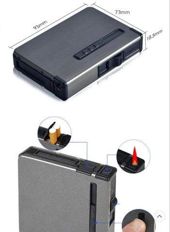 Caixa de Cigarro com isqueiro a Gás - Foto 3