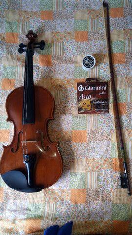 Violino e case