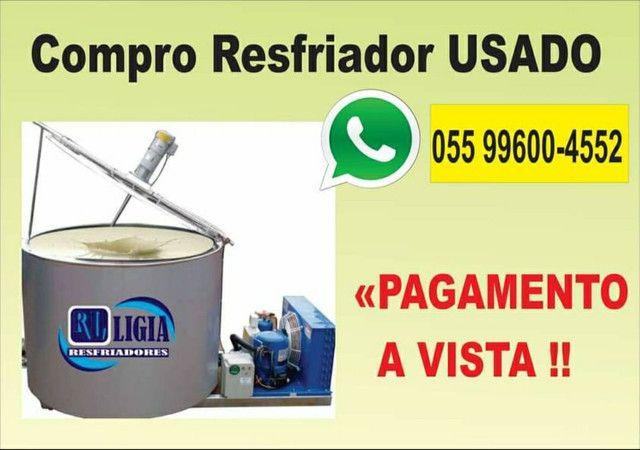 RESFRIADOR DE LEITE USADO