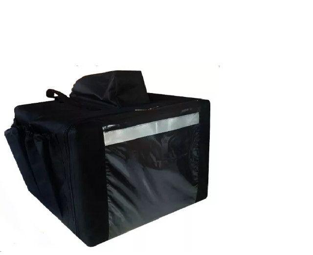 Mochila com caixa térmica para ifood ( 45 lts )