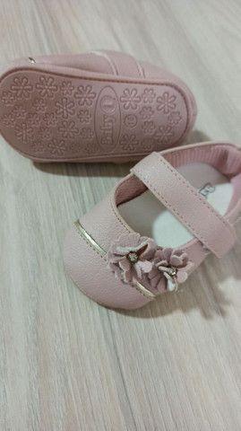 Sapatinho bebê cor rosê - Foto 2