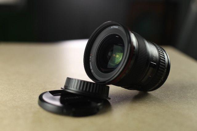 Lente Canon EF 17-40mm f/4L USM - Foto 3