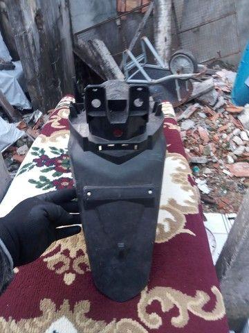 Paralama traseiro da moto CG - Foto 2