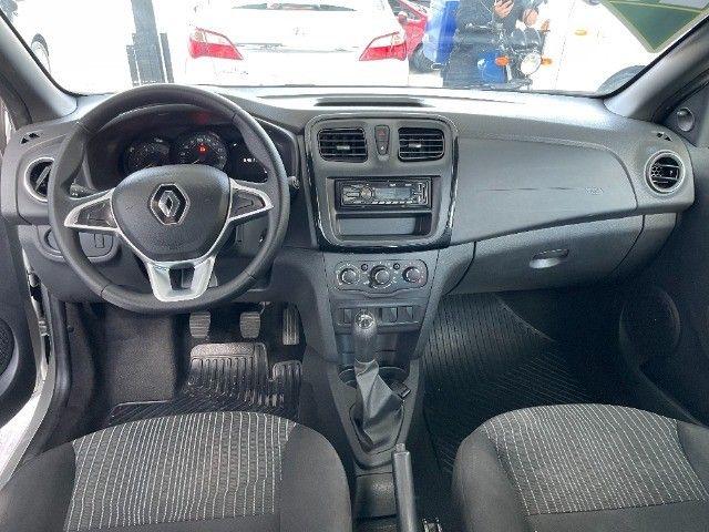 Renault Logan Life 1.0 Flex Completo 2020 Autos RR - Foto 6