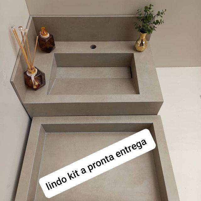 Pia esculpida  - Foto 2