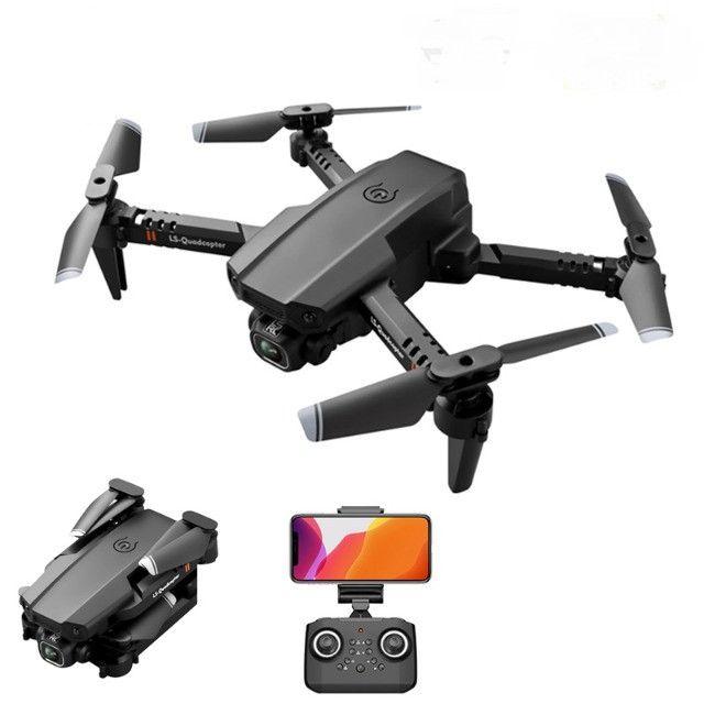 Mini Drone Dobrável Lsrc LS-XT6  WiFi Fpv Câmera 1080P HD 12 mins de Vôo  - Foto 2