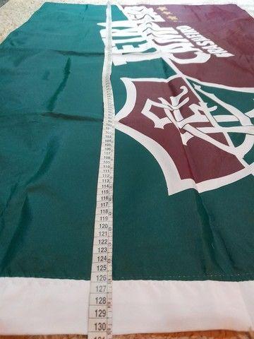 Bandeira  fluminense 1,30 x 88 - Foto 2