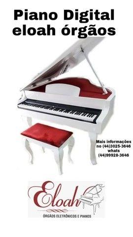 Piano Digital Eloah órgãos eletrônicos com calda
