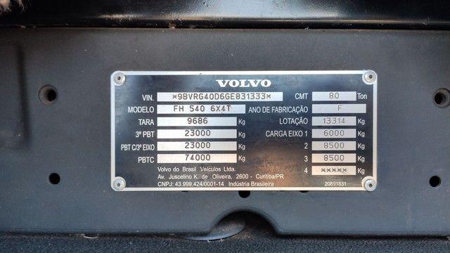 Volvo FH540 Globletrotter 6x4 2015/2016 - Foto 15