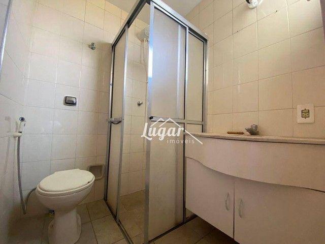 Apartamento com 3 dormitórios para alugar, 100 m² por R$ 1.300,00/mês - Boa Vista - Maríli - Foto 8
