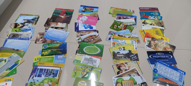 222 Cartões Telefônicos e de Recargas Para Coleções  - Foto 6