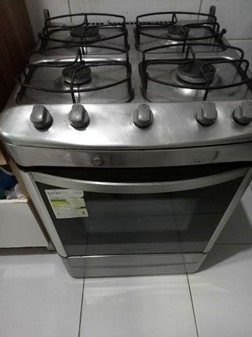 Vendo fogão inox com acendimento automático!!