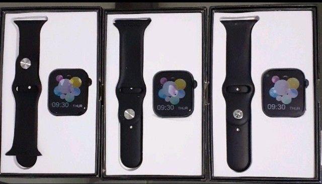 Smartwatch Pulseira inteligente Completa 44mm Bluetooth - Foto 3