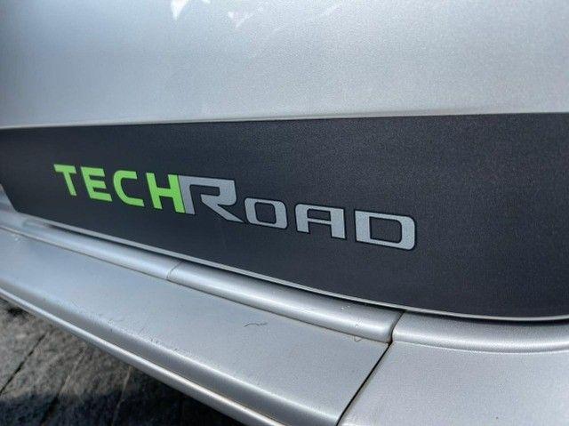 Duster Techroad 1.6 Flex 2014 Completo + Midia Nav Sem Entrada - Foto 4
