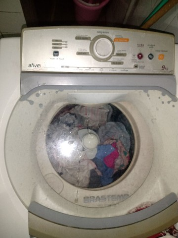 Vendo máquina de lavar com defeito - Foto 2