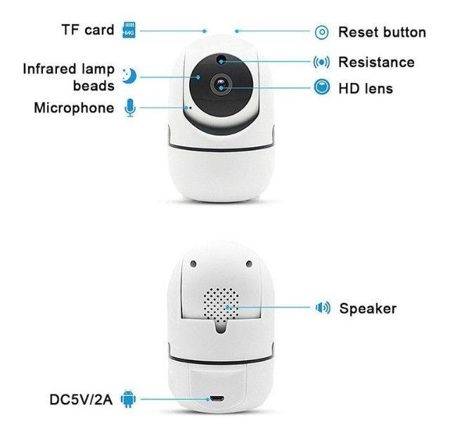 Câmera inteligente wifi ( novo na caixa) - Foto 4