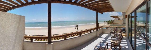 Apartamento para alugueo temporada  com pé na areia na praia do cumbuco 100 m2 - Foto 13