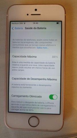 iphone SE 128gb rosa - Foto 4