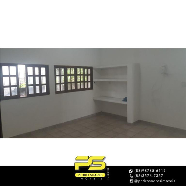 Casa com 3 dormitórios para alugar, 200 m² por R$ 2.500/mês - Castelo Branco - João Pessoa - Foto 3
