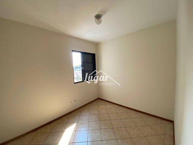 Apartamento com 3 dormitórios para alugar, 100 m² por R$ 1.300,00/mês - Boa Vista - Maríli - Foto 11