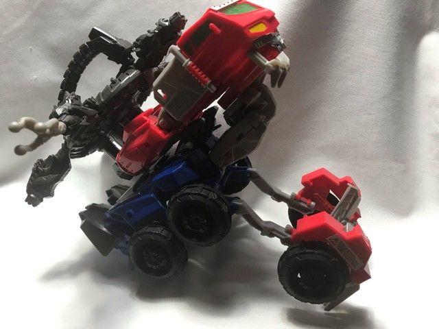 Transformes caminhão/robot lançador de dardos  - Foto 4