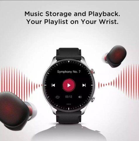 Smartwatch Amazfit GTR 2 (GRÁTIS FONE DE OUVIDO BLUETOOTH) - Foto 3