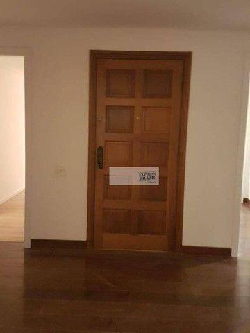 Apartamento com 4 dormitórios para alugar, 335 m² por R$ 14.000,00/mês - Chácara Flora - S - Foto 2