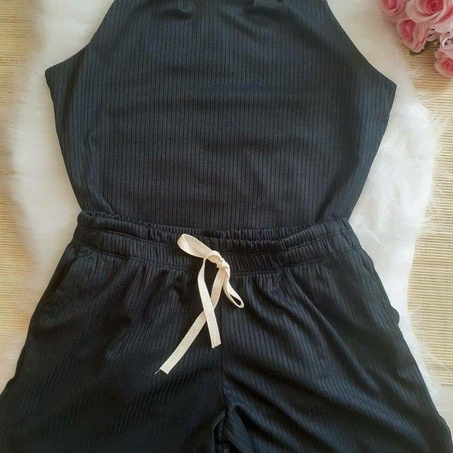 Conjunto blusa e short - Foto 2