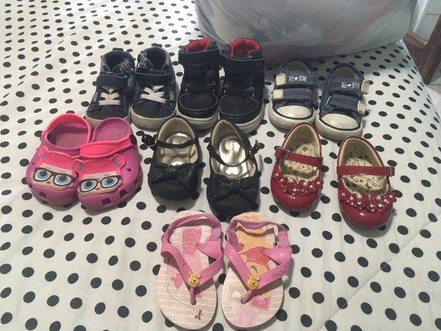 Lote sapato infantil