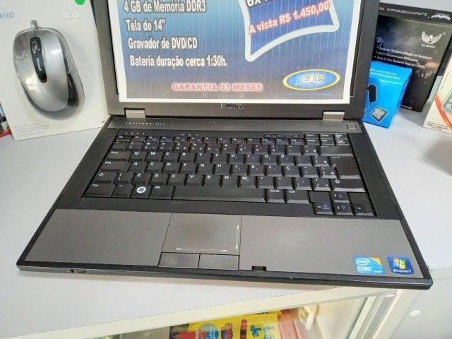 Notebook DELL | Core i3 - 500GB HD| 4GB |   Formatado C/Garantia - Foto 2