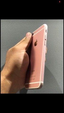 iPhone 6s rosê - Foto 2