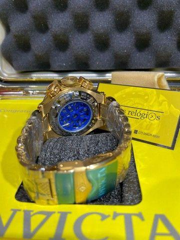 Relógio noma 5 banhado a ouro novo  - Foto 4