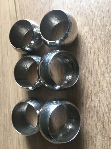 4 argolas para guardanapo - Tok Stok - Foto 3