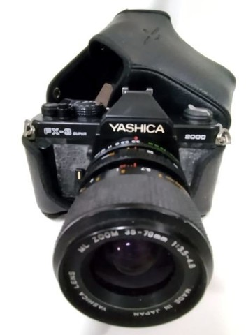 Máquina Fotográfica Yashica Fx-3 Super 2000