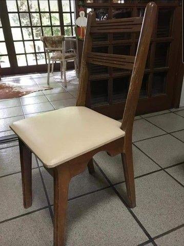 Conjunto em madeira - Foto 5