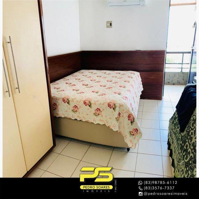 (MOBILIADO) Apartamento com 3 dormitórios para alugar, 166 m² por R$ 6.000/mês - Tambaú -  - Foto 13