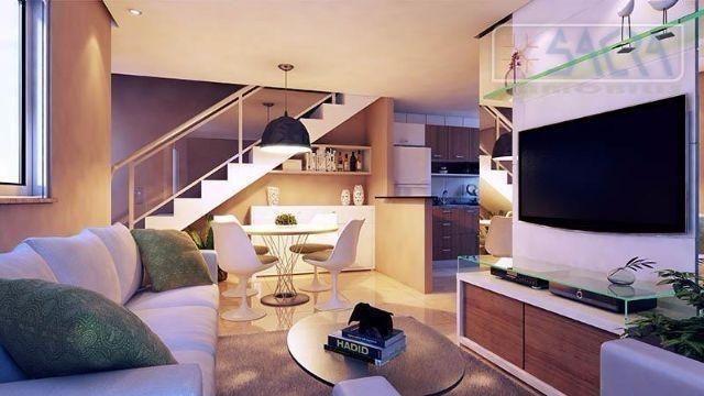 Villa esplanada Duo,condomínio fechado c/ 10 casas duplex com 3 Suites 2 vagas em Caucaia