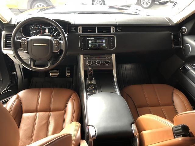 Range Rover Sport HSE Dinamic 4.4 V8 ano 2016 garantia até outubro 2019 - Foto 10