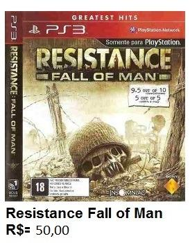 Resistance fall of man de play 3