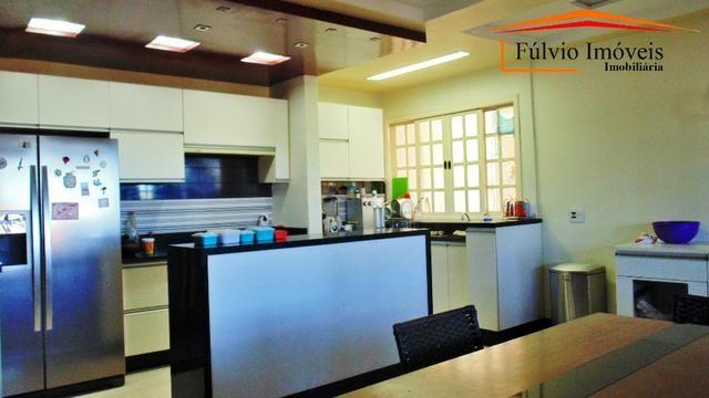 Linda casa, fino acabamento, porcelanato, laje, 04 quartos Colônia Agrícola Samambaia - Foto 15