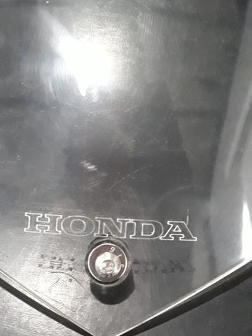 Vendo bolha parabrisa cristal zerada para moto honda/ - Foto 2