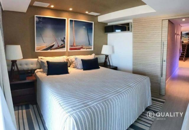 Apartamento duplex com 4 quartos à venda, 151 m² por R$ 2.000.000 Porto das Dunas - Aquira - Foto 7
