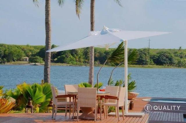 Casa na Lagoa do Uruaú com 6 suítes à venda, por R$ 5.800.000 Porteira fechada- Beberibe - Foto 16