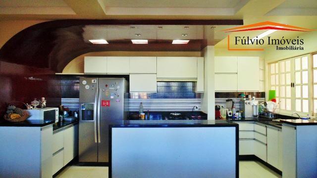 Linda casa, fino acabamento, porcelanato, laje, 04 quartos Colônia Agrícola Samambaia - Foto 17