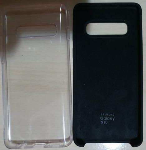 Case original + capa 360? Galaxy S10