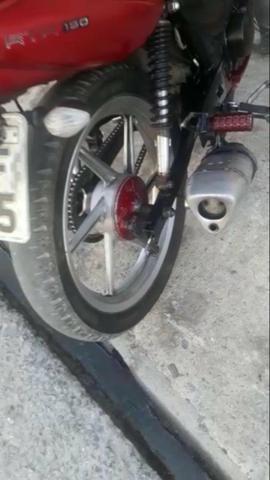 Moto 150 Cc arrumada - Foto 6
